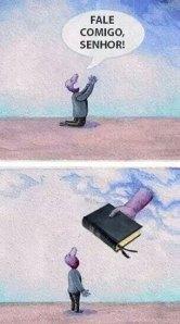 Se esconder não faz de você invisível. Pois Deus conhece seu interior!!!